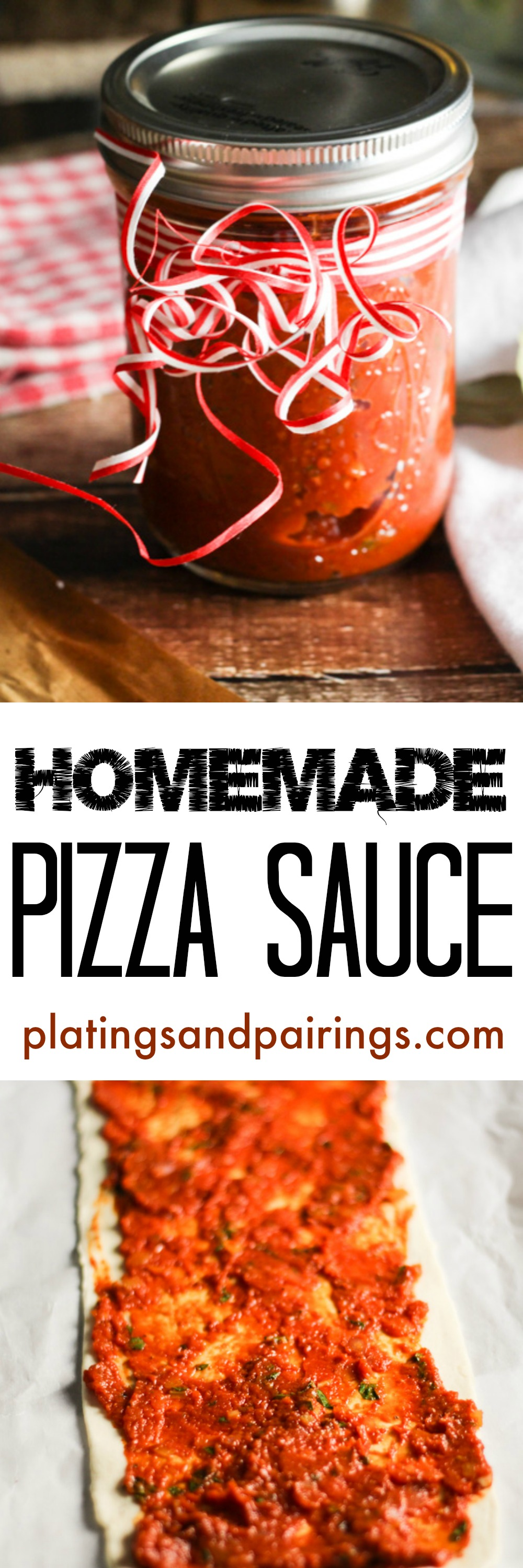 Butter makes it better! The BEST pizza sauce I have tried!