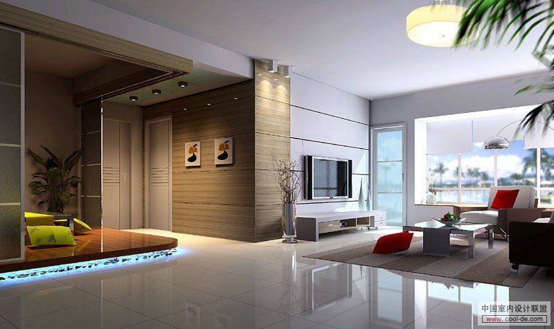 Ultramodern Living Room Inspiration Tv Wall Units In Light Grey