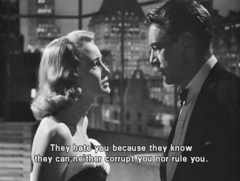 Beautiful Classic Hollywood Couple! Patricia Neal and Gary Cooper in The Fountainhead (1949)