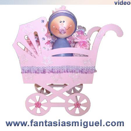 Carreola C Bebé Como Hacer Manualidades Fantasias Miguel