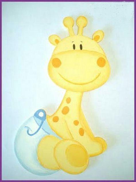 Jirafa Bebe Baby Shower Giraffe Baby Painting Baby Giraffe