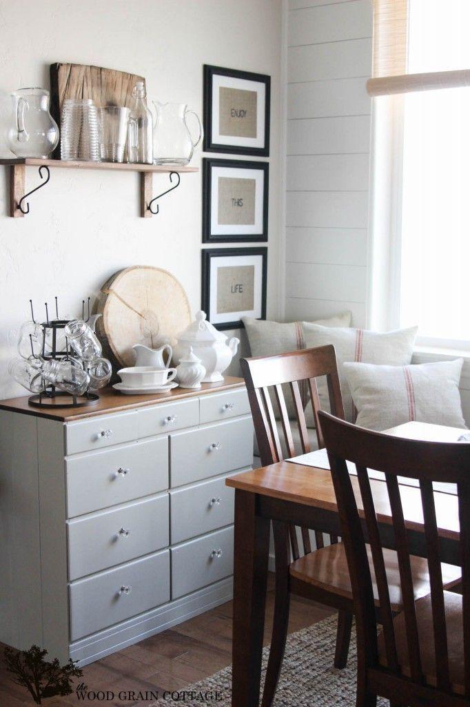 Grain Sack Pillows by The Wood Grain Cottage | Home Decor | Pinterest