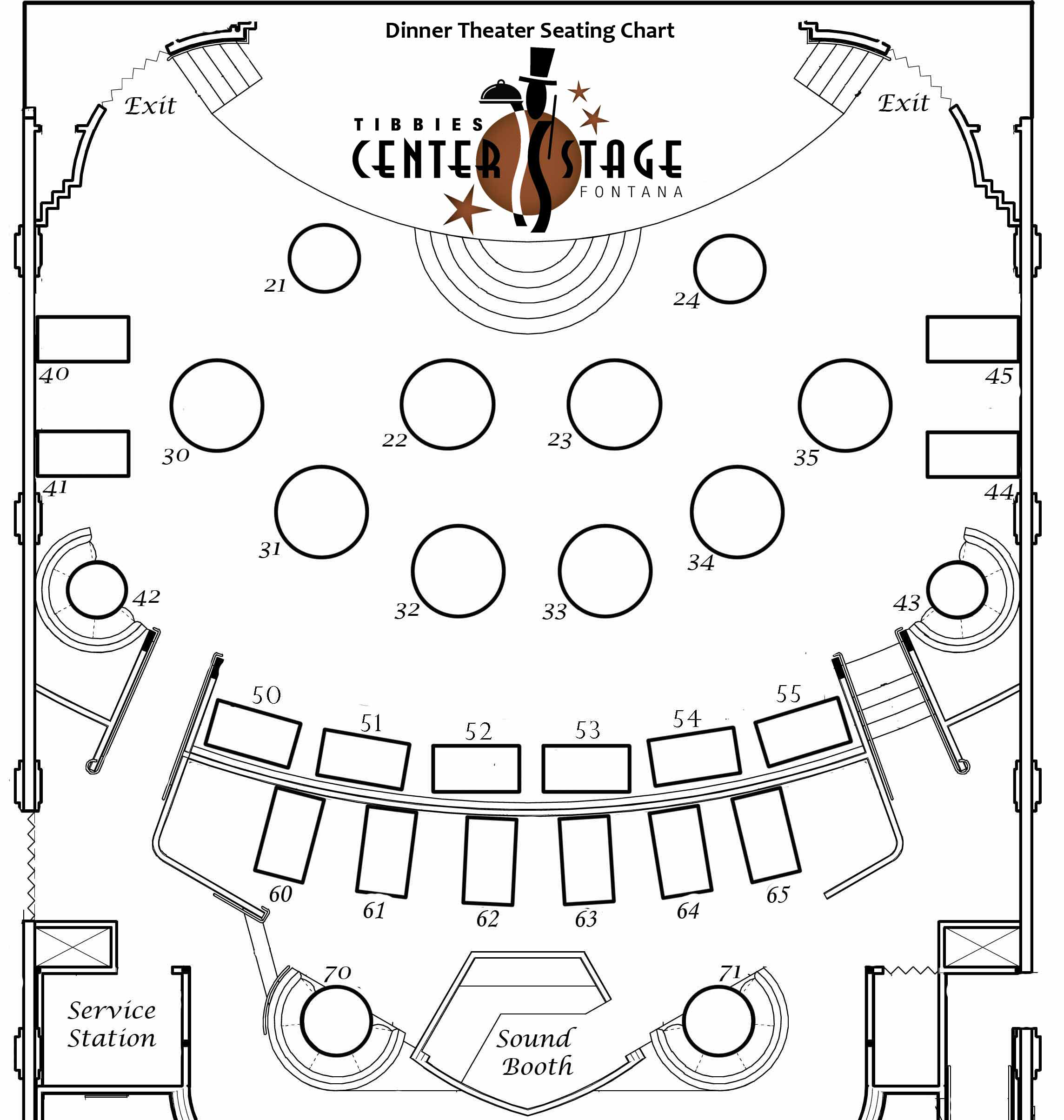 room layout template buffet table layout diagram catering complete Stand Layout Diagram