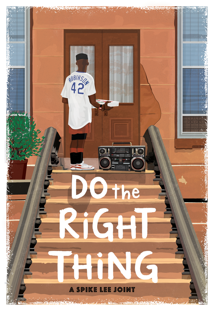 Do The Right Thing Alternate Movie Poster Art Print By Chris Ayers Creative X Small Movie Posters Alternative Movie Posters Spike Lee