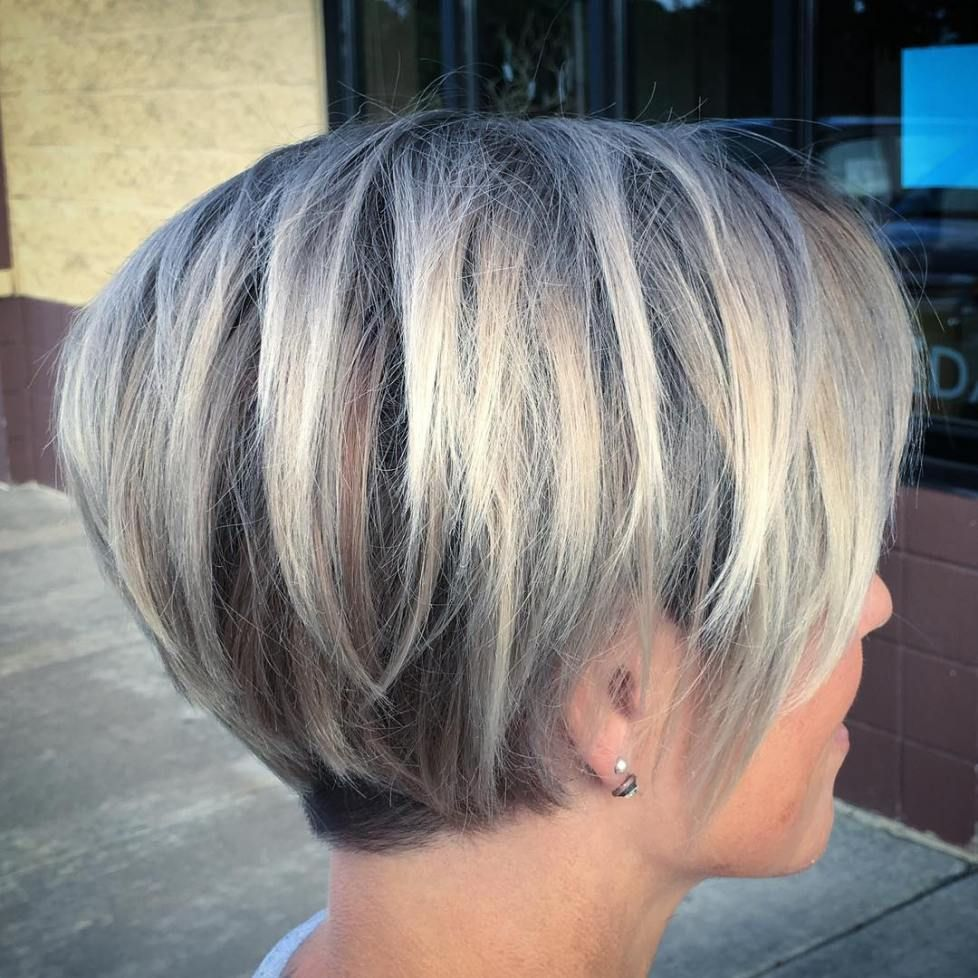 Layered Pixie Bob For Fine Hair Bob Hairstyles For Fine Hair Short Hair Styles Hair Styles