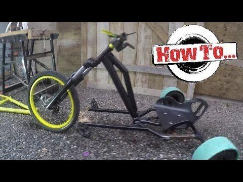 How To Build A Homemade Drift Trike On A Budget Part 1 Drift