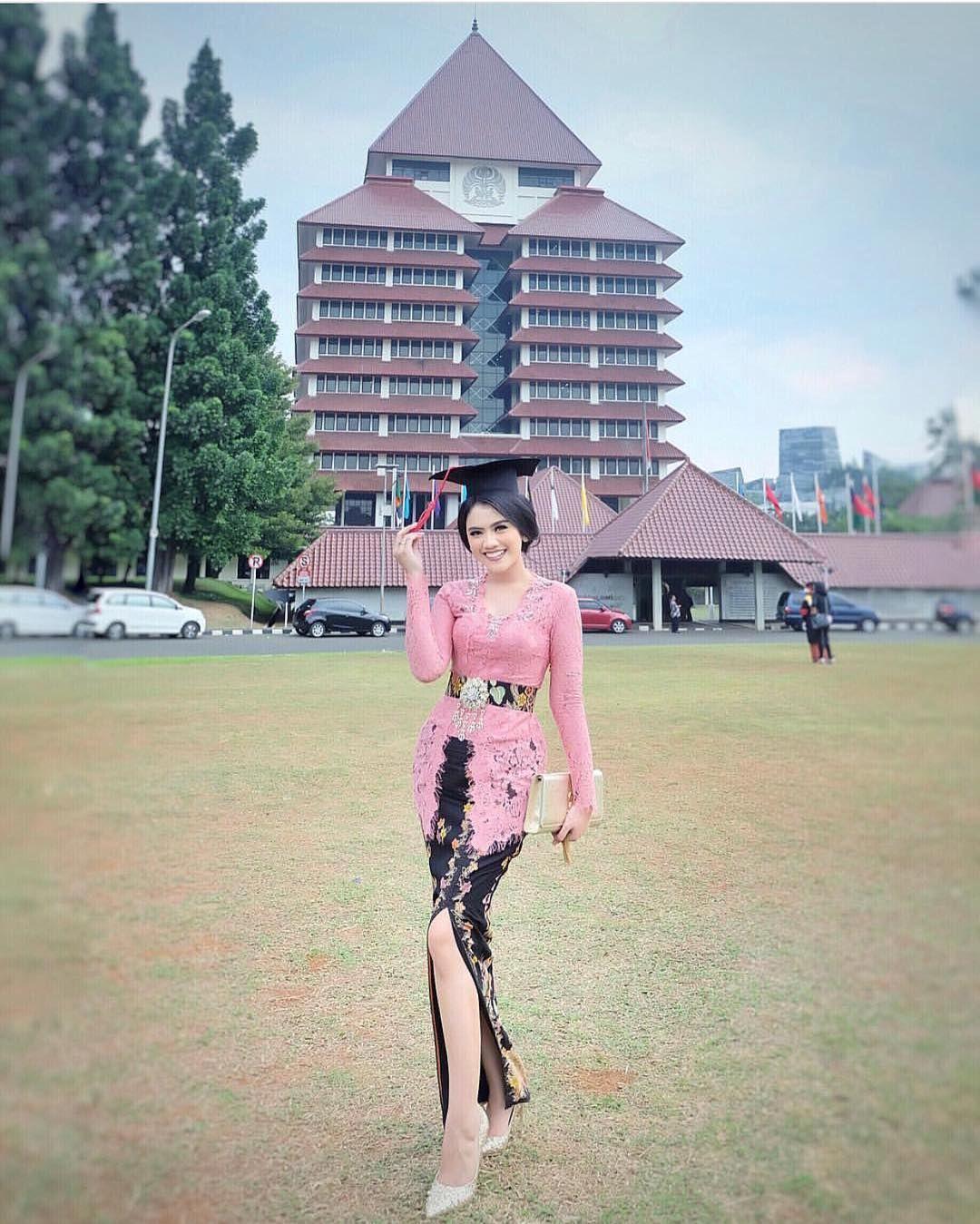 Photo of model rok kebaya muslim