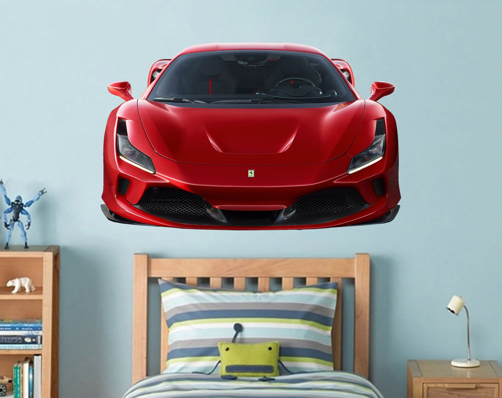 Ferrari Wall Decal Car Wall Decal Supercar Decal Playroom Wall Etsy Kids Wall Decals Super Cars Kids Room Wall Decals