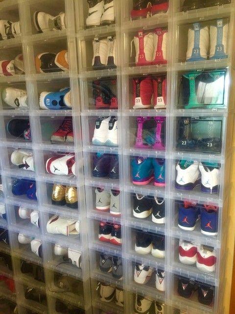Receipt Organization Container Organizing Ideas Drop Front Shoe Box Organizer