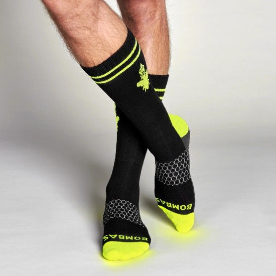 Bombas Socks. You buy a pair and they donate a pair to people who need them.