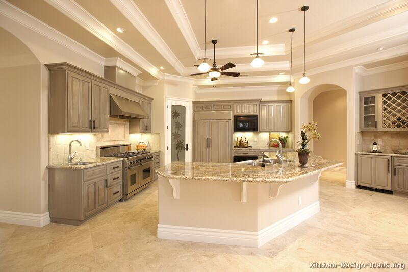 Best Kitchen Idea Of The Day Gray Kitchen Cabinets In 400 x 300