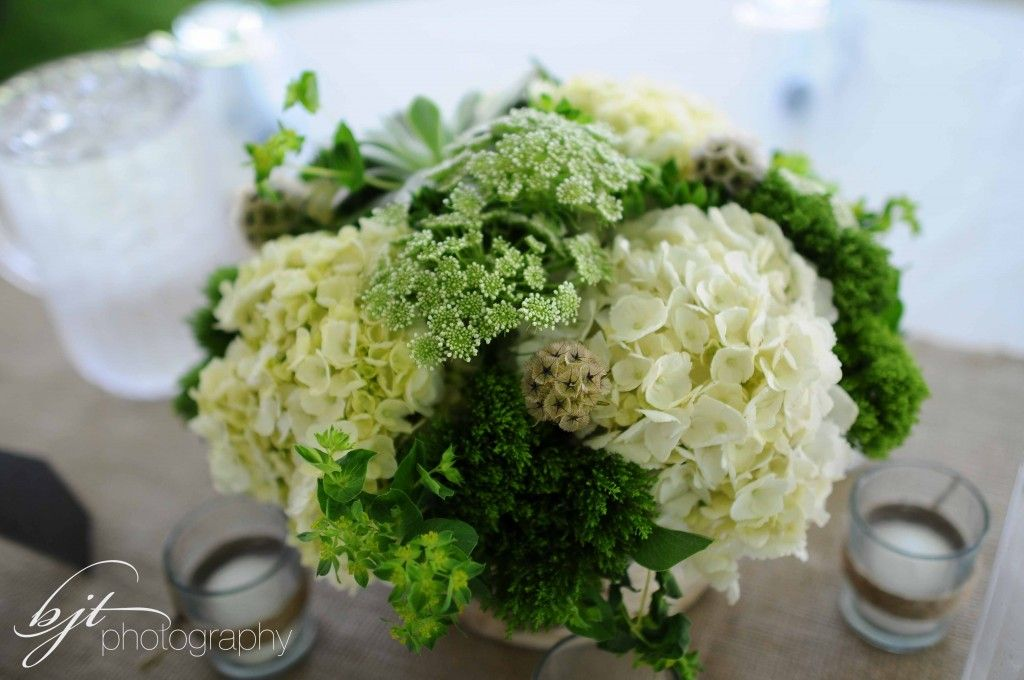 woodland wedding centerpieces