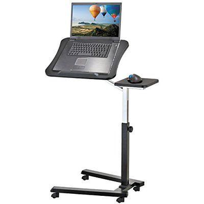 Nice Laptop Desktop Accessories Adjustable Rolling Laptop Stand