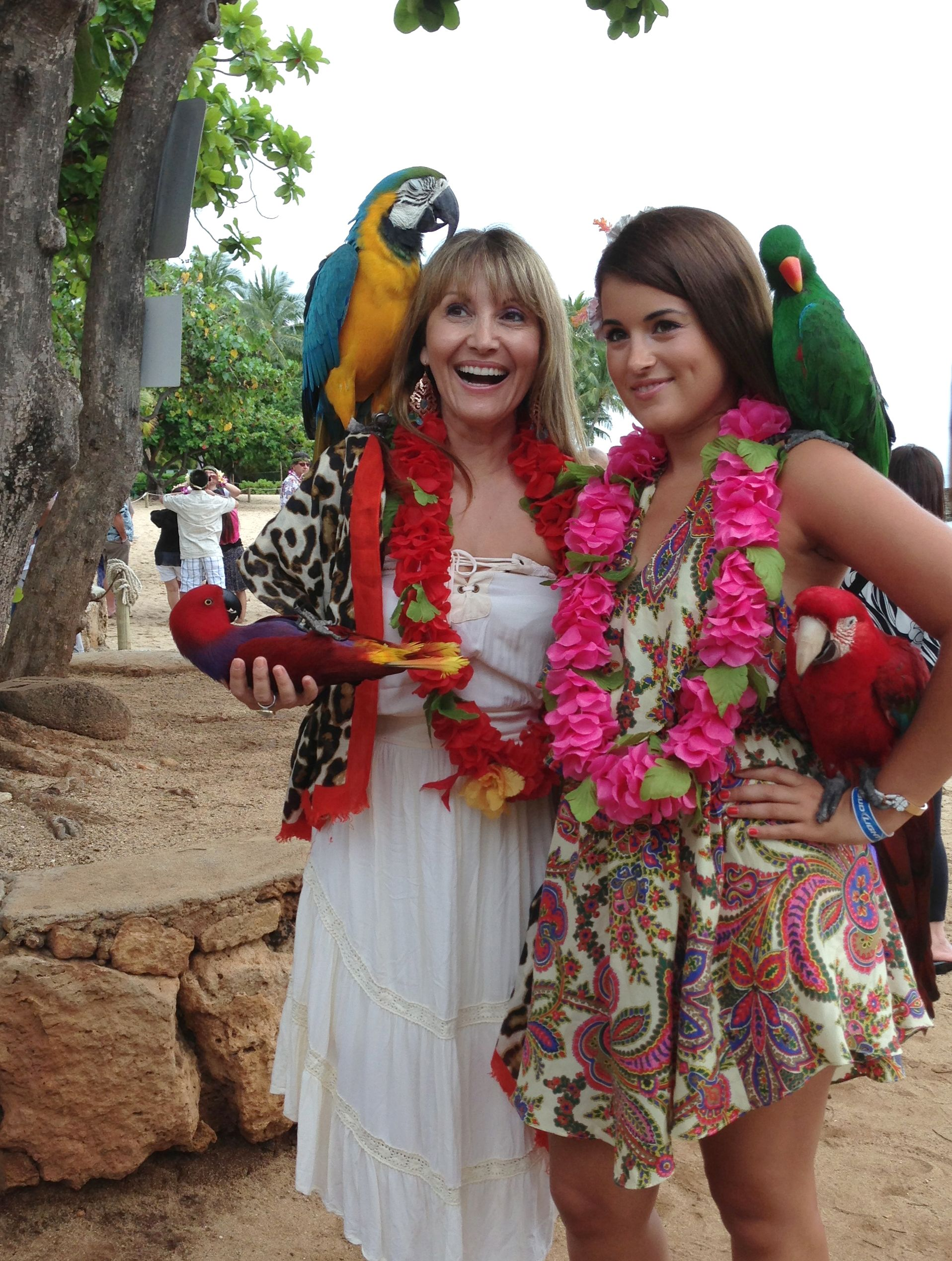 Enjoying beautiful tropical Hawaii. We love the colours, culture & lovely people of this amazing place