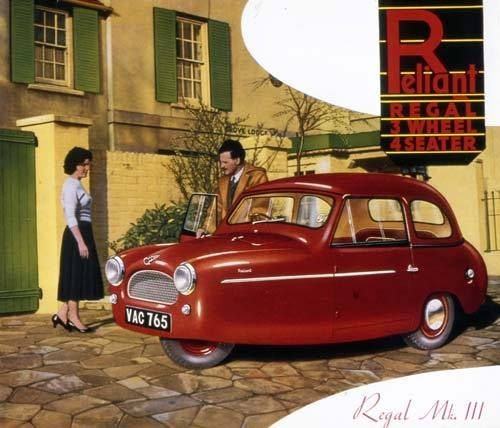 1957 Reliant Regal MK. III
