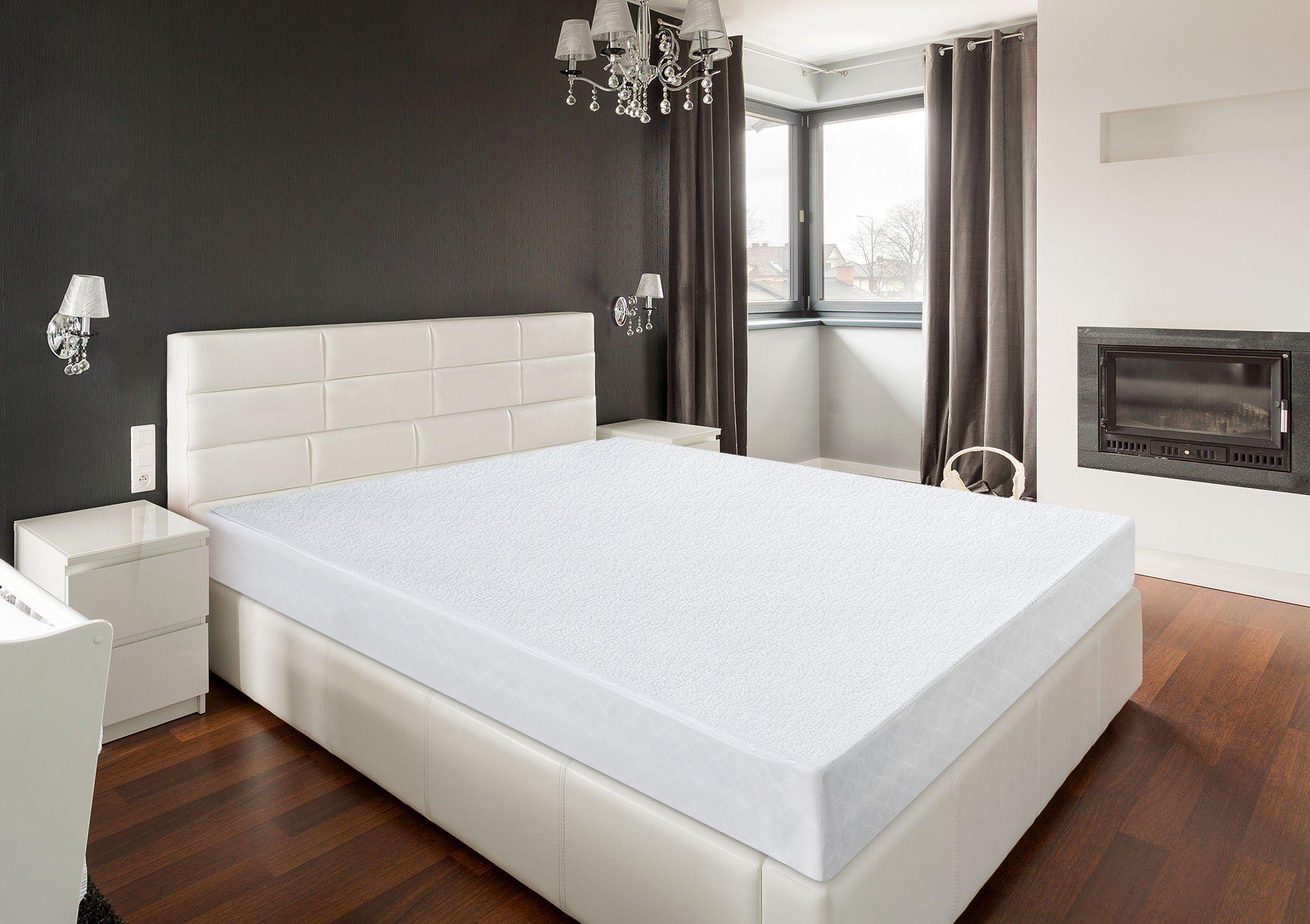 Utopia Bedding Premium Hypoallergenic Waterproof Mattress Protector Vinyl Free