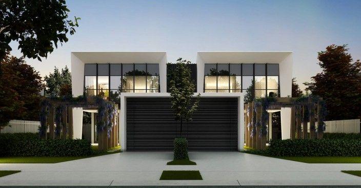 Townhouse Development Duplex Design Duplex House Design Facade House
