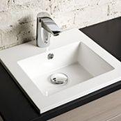 Oras Cubista, touchless wash basin faucet