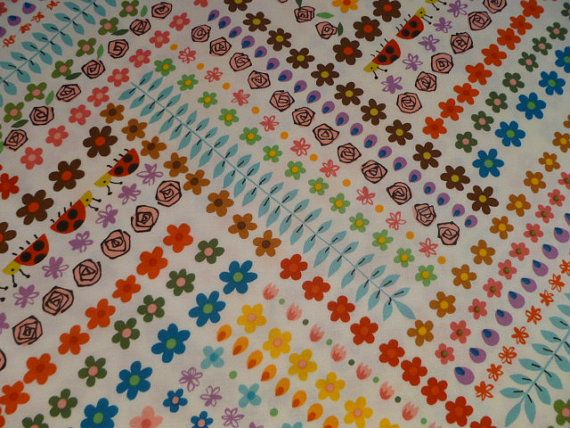 SALE Alexander Henry Juicy Blooms 8039A by SeaSpunQuilts on Etsy, $6.95