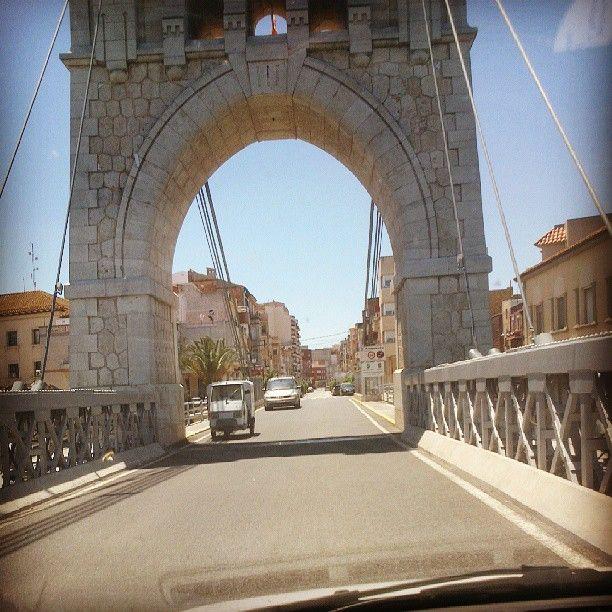 Pont d'Amposta! #Amposta #terresdelebre #catalunya #catalonia #pont #bridge