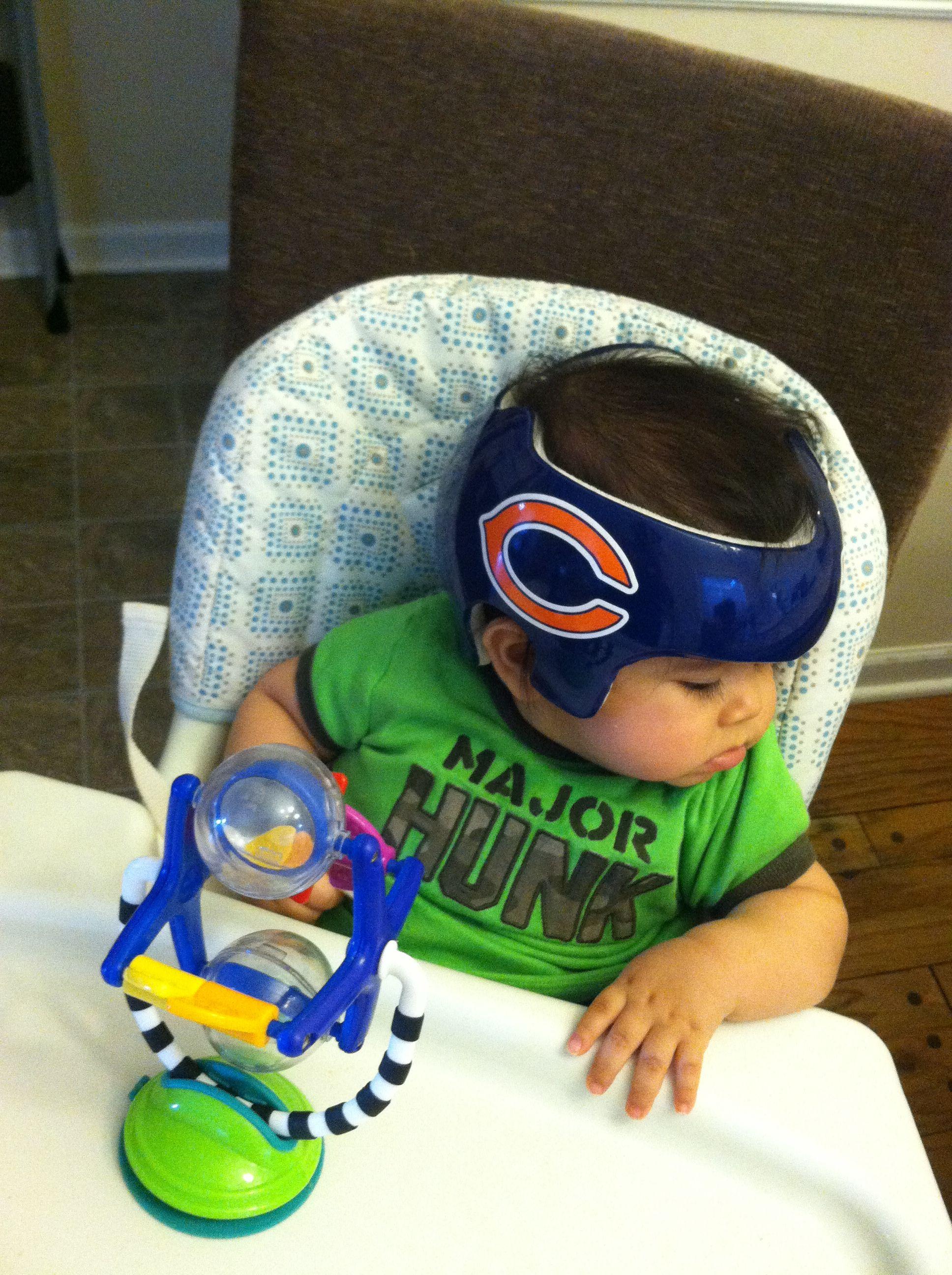 Doc Band Decor Chicago Bears Helmet Baby Helmet