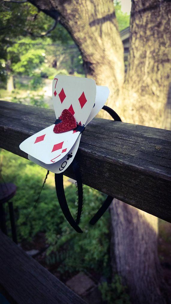 super sale queen of hearts alice in wonderland headband. Black Bedroom Furniture Sets. Home Design Ideas