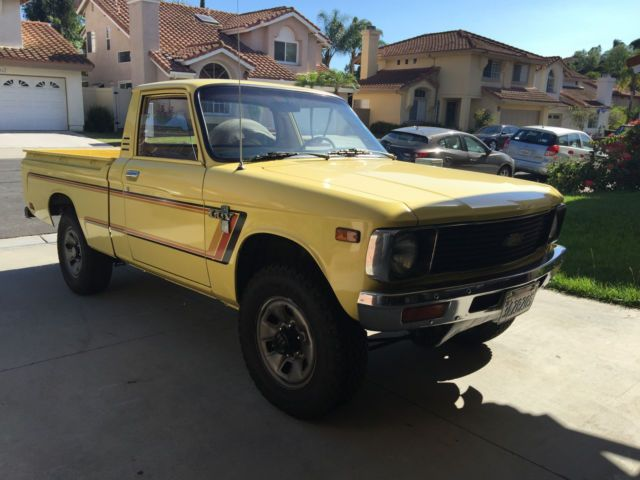 Rare 1980 Chevy LUV 4X4