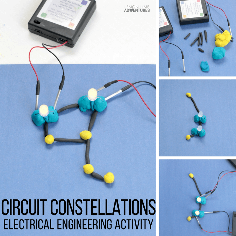 circuits for kids totally fun squishy circuit constellations rh pinterest com