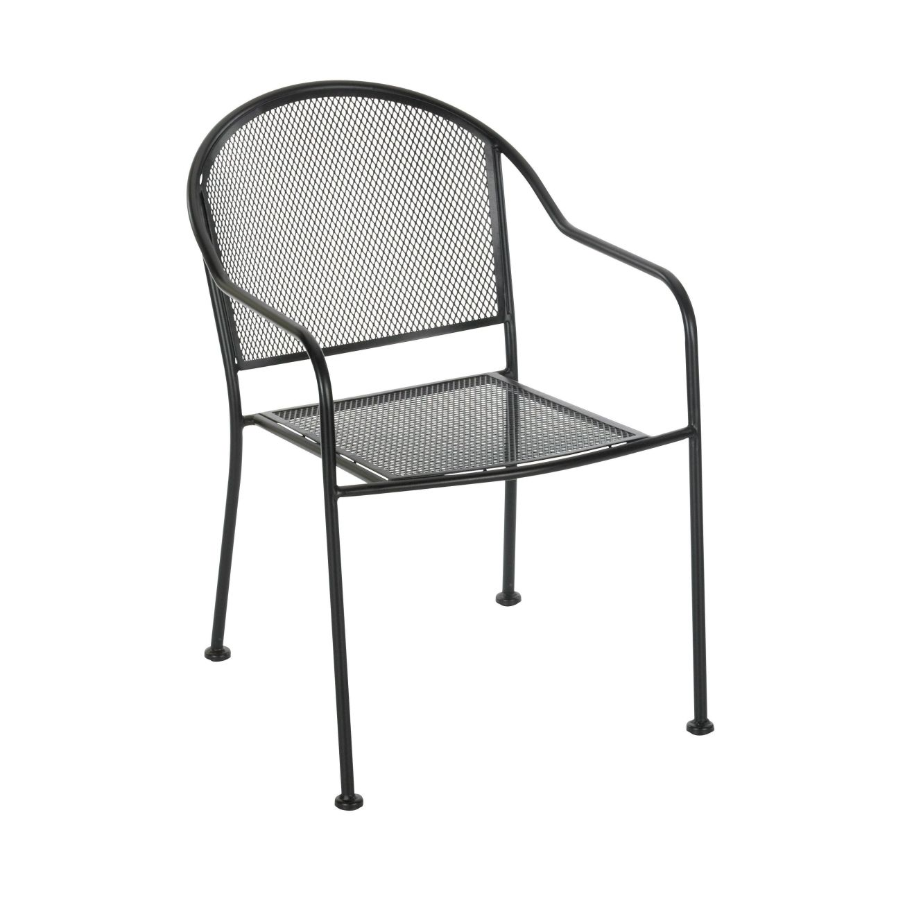 Living Accents Wrought Iron Mesh Chair - Outdoor Dining Chairs - Ace  Hardware . - Living Accents Wrought Iron Mesh Chair - Outdoor Dining Chairs