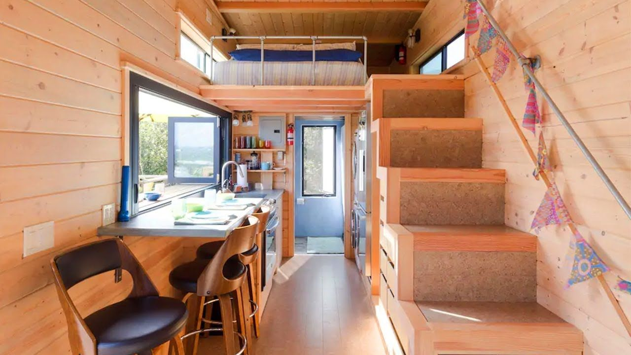 Super Perfect Indoor Outdoor Living Tiny House With Ocean