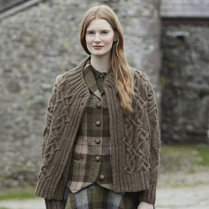 Derwent from Lakeland by Marie Wallin. A stunning cable jacket ...
