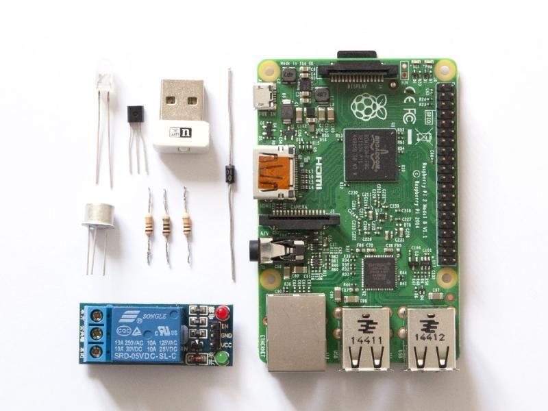 Em18 Rfid Reader Module With Raspberry Pi Circuit Diagram