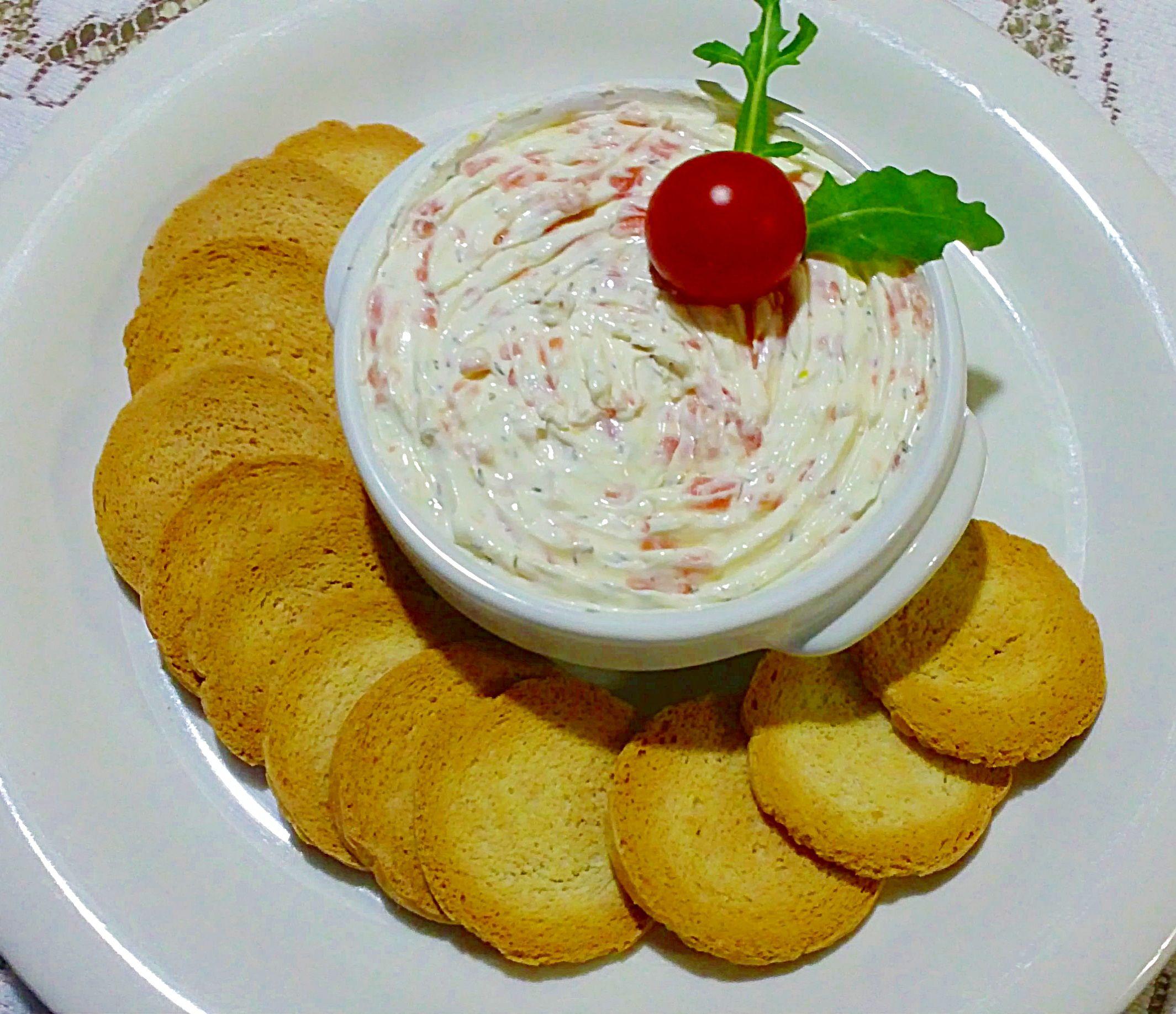 Paté De Salmón Y Queso Crema Aperitivos Salados Recetas Con Queso Philadelphia Tapas Y Aperitivos