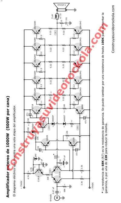 Circuito Impreso De Amplificador De 3000w : Estereo de w amplifier pinterest detector
