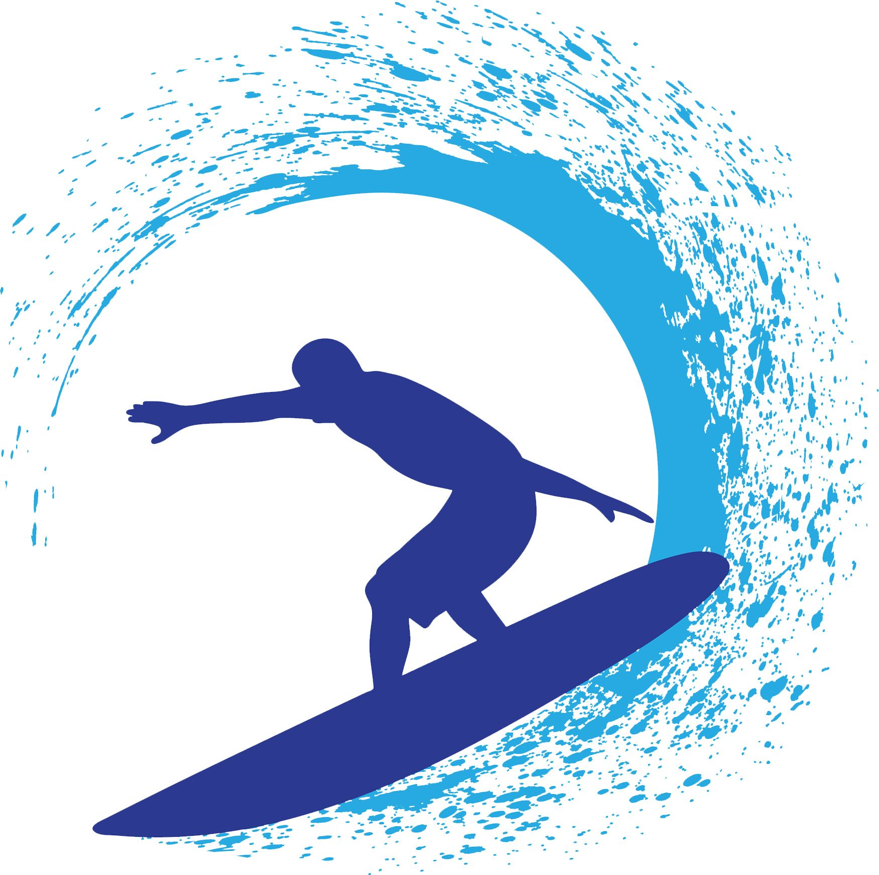 Create Surfer Designs Using The Clip Art From Decorating And Publicity CD ROM Here Is An