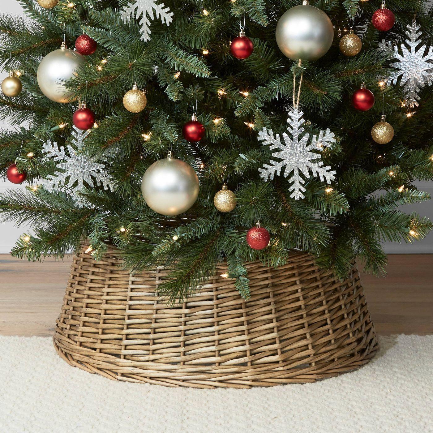 "26"" Split Willow Christmas Tree Collar (With"