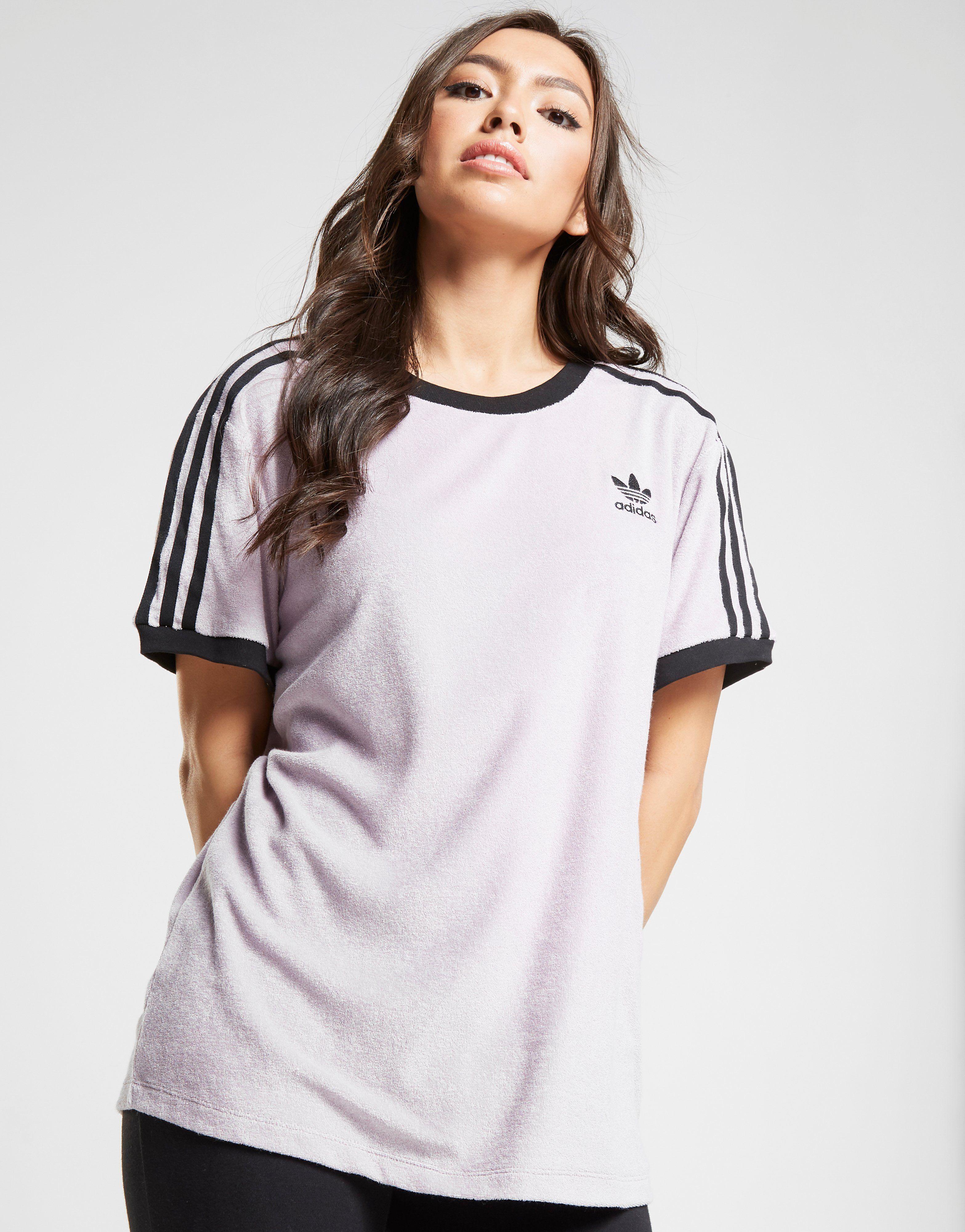 ad32bfe6e7c adidas Originals '90s 3-Stripes California Towel T-Shirt – Achète en ligne