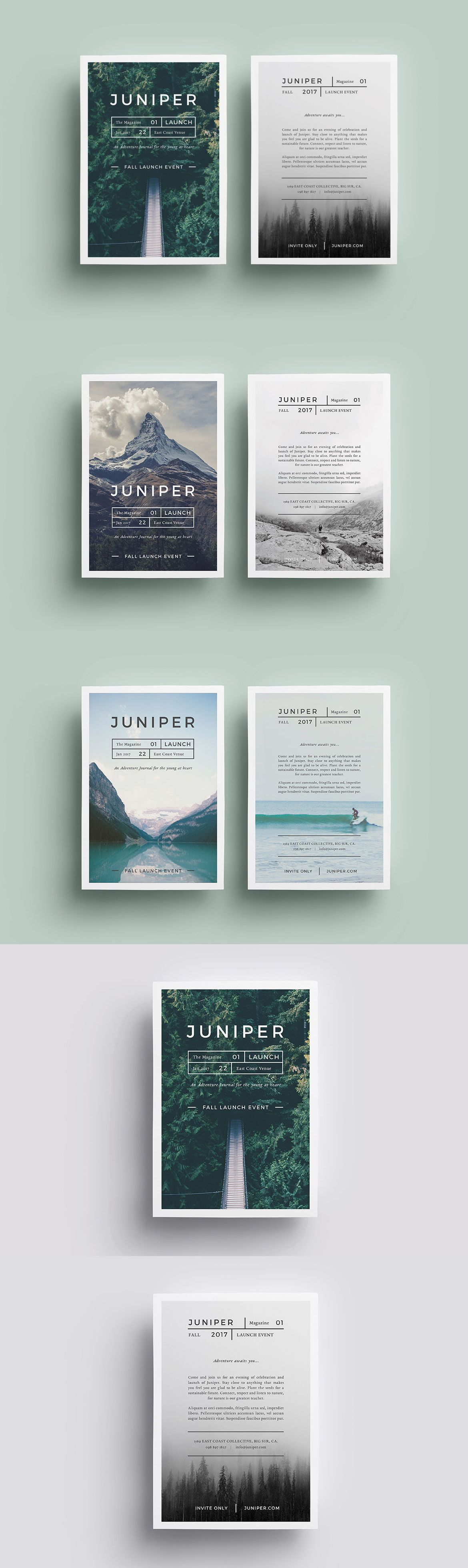 A Beautiful Multipurpose Flyer Templats InDesign INDD | Graphic ...
