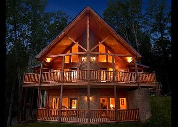 gatlinburg luxury cabins cabin bedroom modern rentals info dodomi