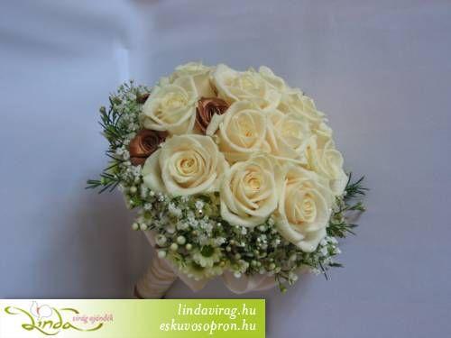 7ebc2324cf Menyasszonyi csokrok, fotó galéria - esküvői virágdíszítés | csokor ...