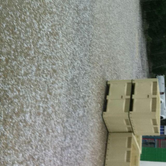 Franschhoek , hail storm.