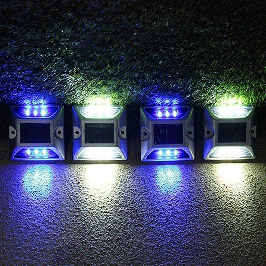 Lampe Solaire Pour Quai Terrasse Deck Patio Trendszy Lampes Solaires Eclairage Solaire Exterieur Solaire