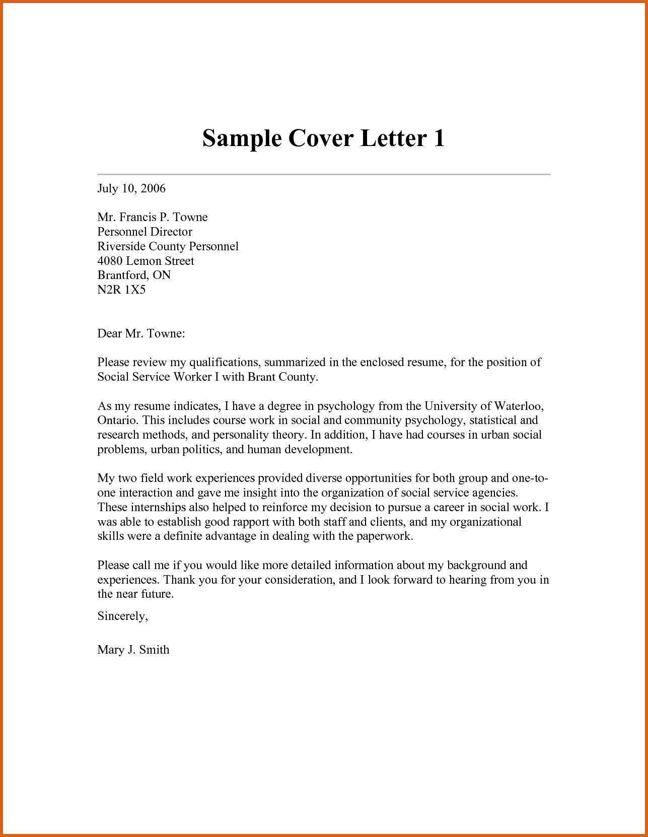 Community Service Cover Letter from i.pinimg.com