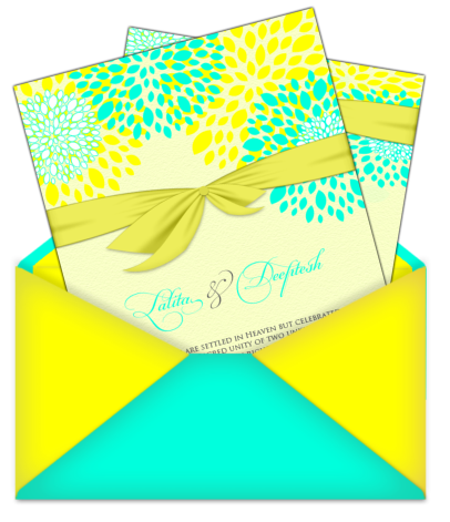 letter style email indian wedding card design 17