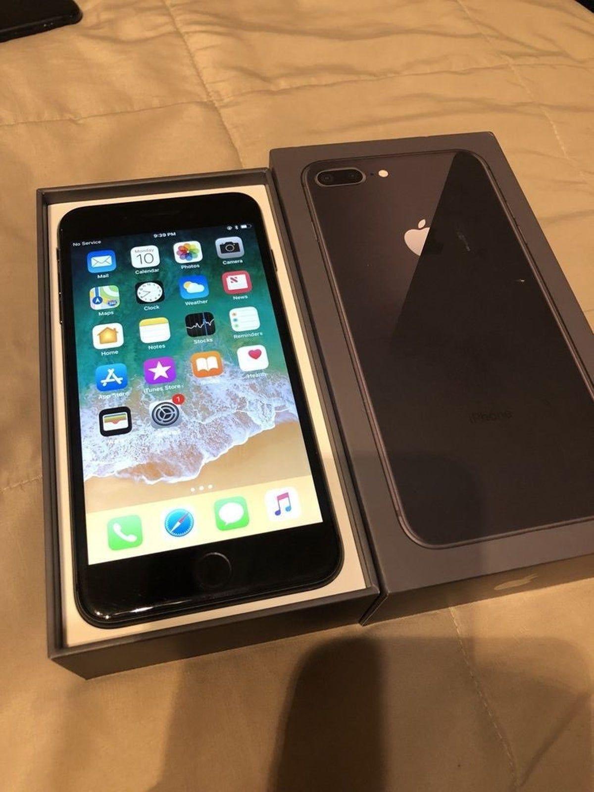 Iphone 8 Plus Space Gray 64 Gb Sprint In 2020 Iphone 8 Plus Apple Smartphone Apple Iphone
