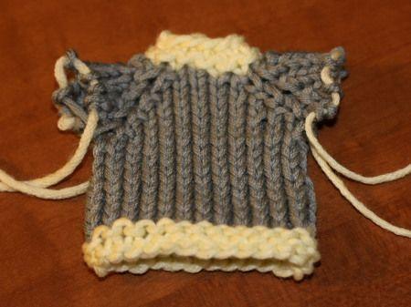 One Hour Sweater Free Knit Pattern Knit Pinterest Knit