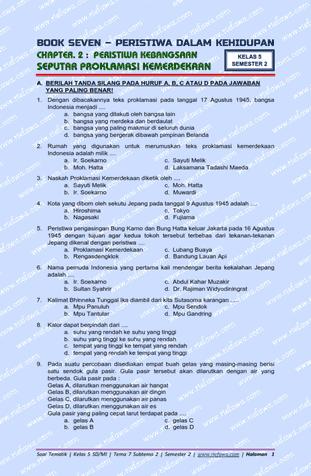 Download Soal Tematik Kelas 5 Tema 7 Subtema 2 Kurikulum 2013 Edisi Revisi Terbaru Peristiwa Dalam Kehidupan Pas Pts P Person Bullet Journal Personalized Items
