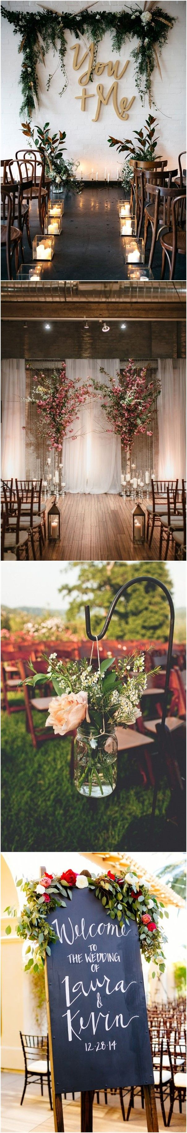 2017 06 registry office wedding vows examples - Country Weddings 25 Rustic Outdoor Wedding Ceremony Decorations Ideas See More