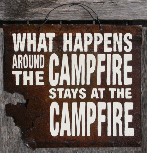 a720e8e7b922 Rustic Cabin Campfire Sign by ZietlowsCustomSigns on Etsy on Wanelo ...