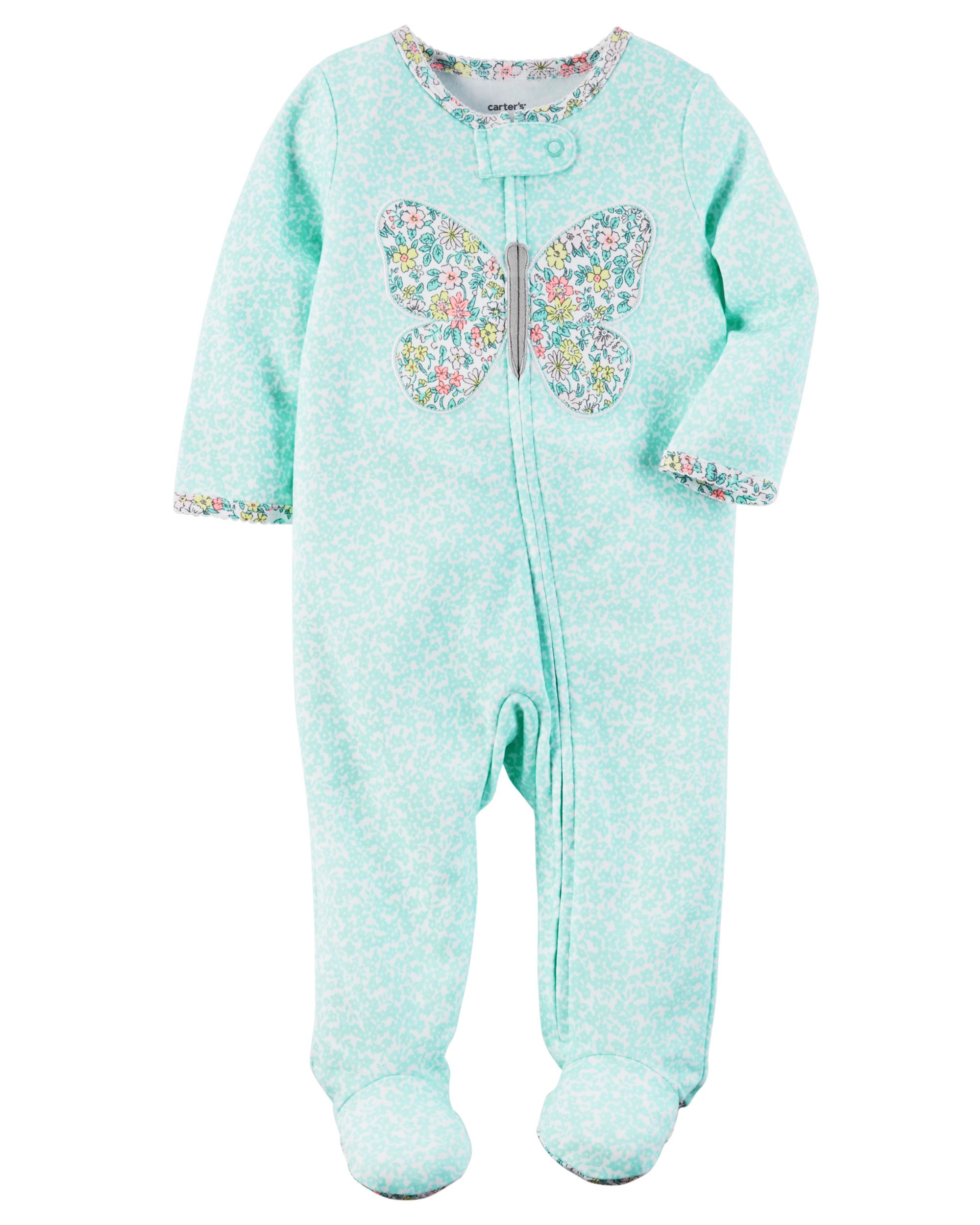 903809738c Baby Girl Cotton Zip-Up Sleep   Play from Carters.com. Shop clothing    accessories from a trusted name in kids